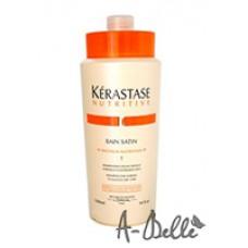 НУТРИТИВ Шампунь-ванна  Сатин№ 1 для нормальных и слегка сухих волос 1000 мл / NUTRITIVE IRISOME  BAIN SATIN 1 IRIS ROYAL *