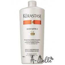 НУТРИТИВ Шампунь-ванна Сатин№ 2 для сухих и чувствительных волос 1000 мл / NUTRITIVE IRISOME BAIN SATIN 2 IRIS ROYAL *